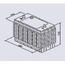 Аккумулятор BOSCH T3 033 102AH 680A EN T3033