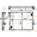 Радиатор BEHR 8MK376716-251 для BMW E46 и Z4