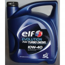 ELF 10W40 EVOLUTION 700 TURBO D 5L, 10W-40