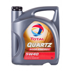 TOTAL 5W40 QUARTZ 9000 ENERGY 5L, 5W-40