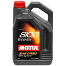 Motul 8100 Eco-lite 0W20 5L Honda Mazda Subaru SM/CF