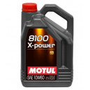 Motul 8100 X-Power 10W60 5L A3/B4, SN/CF