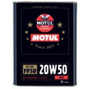 Motul Classic Oil SAE20W50 2L Motoreļļa retroauto 1950-