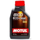 Motul 8100 Eco-clean 0W30 1L. 0W-30