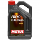 Motul 8100 Eco-clean 0W30 5L. 0W-30