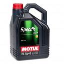 Motul SPECIFIC CNG/LPG 5W40 5L 5W-40