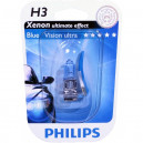 Philips H3 BlueVision ultra 12V 55W PK22s Blister