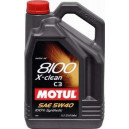 Motul 8100 X-clean 5W-40 - C3, 5l.