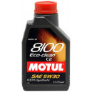 Motul8100 Eco-clean 5W-30 C2, 1l.