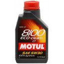 Motul 8100 Eco-clean+ 5W-30 C1, 1l.