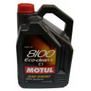Motul 8100 Eco-clean+ 5W-30 C1, 5l.