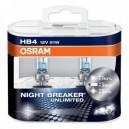 HB4 Автолампа OSRAM Night Breaker Unlimited, 12v, 51w, +110% 2шт. 9006NBU