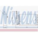 Испаритель кондиционера NISSENS 92003 для BMW E36