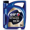 ELF 5W30 EVOLUTION FULLTECH LLX 5L, 5W-30