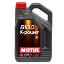Motul 8100 X-Power 10W60 5L A3/B4, SN/CF