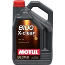 Motul 8100 X-clean+ 5W30 C3 5L LL-04, 229.51, 504.00-507