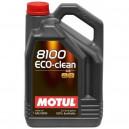 Motul 8100 Eco-clean 0W30 5L. 0W-30