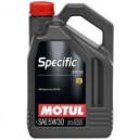 Motul SPECIFIC MB229.52 5W30 5L. 5W-30