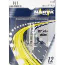 NARVA H1 55W P14,5S RP50+ 12V NARVA