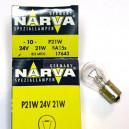 Лампа накаливания, дополнительный фонарь сигнала торможения NARVA 17643