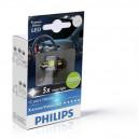 Philips Festoon XV LED T14x30 4000K 12V 1W SV8,5 2PCS/PACK