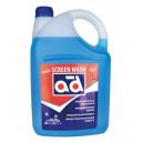 Жидкости для стеклоомывателя зимняя SCREENWASH (-22C) 4L